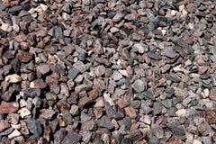Pedra esmagada granito Imagem de Stock