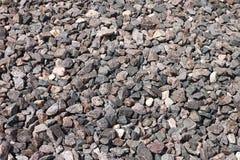 Pedra esmagada o granito esmagado Foto de Stock Royalty Free