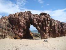 Пляж Pedra Furada стоковая фотография