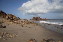 Pedra Furada in Jericoacoara Stock Image