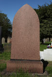 Pedra grave vazia no cemitério foto de stock royalty free
