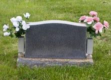 Pedra memorável em branco Fotografia de Stock