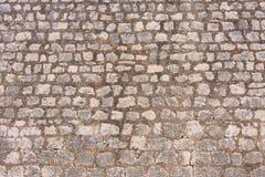 Pedra na parede Imagem de Stock