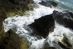 Pedra na tempestade Imagens de Stock