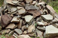 Pedra natural Imagem de Stock