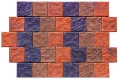 Pedra natural sem emenda dos ladrilhos da textura da telha de mármore bege Foto de Stock