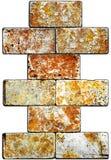 Pedra natural sem emenda dos ladrilhos da textura da telha de mármore bege Imagens de Stock Royalty Free