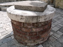 Pedra no moinho velho em Montenegro Foto de Stock Royalty Free