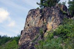Pedra no sofrimento Imagem de Stock Royalty Free