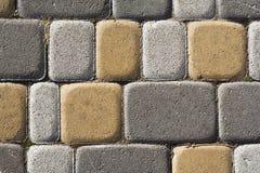 A pedra obstrui a parede, teste padrão sem emenda Imagens de Stock Royalty Free
