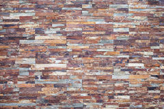 Pedra oxidada Folheado de pedra para a decoração da parede exterior imagens de stock royalty free