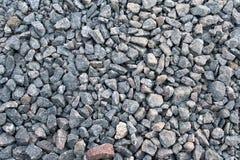 Pedra para a mistura do cimento, textura foto de stock