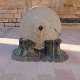 Pedra para pressionar cereais Fotografia de Stock Royalty Free
