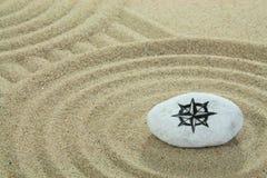 Pedra pintada Imagem de Stock Royalty Free