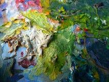 Pedra pintada Fotografia de Stock Royalty Free