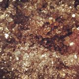 Pedra preciosa do ouro Fotografia de Stock