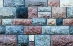 A pedra sem emenda obstrui a parede Fotografia de Stock Royalty Free