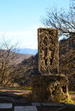 Pedra transversal medieval armênia Imagens de Stock Royalty Free