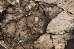Pedra velha nas quebras Imagem de Stock