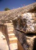 Pedra velha no amphitheatre foto de stock royalty free