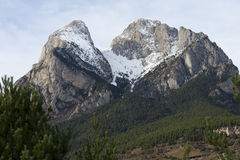Pedraforca Royalty Free Stock Photography