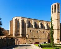 Pedralbes修道院大教堂  免版税库存照片