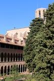 Pedralbes修道院  库存照片