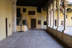 Pedralbes修道院  免版税库存照片