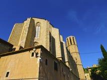 Pedralbes monaster w Barcelona fotografia royalty free