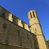 Pedralbes Monastery in Barcelona Royalty Free Stock Images