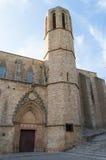 Pedralbes Monastery in Barcelona Stock Photo