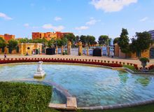 Pedralbes Park in Barcelona Stock Images
