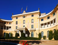 Pedralbes Royal Palace in Barcelona Royalty Free Stock Image