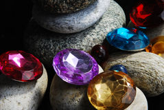 Pedras & pérolas Foto de Stock Royalty Free