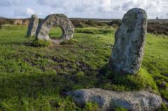 Pedras antigas dos homens-um-Tol Imagem de Stock Royalty Free
