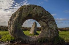 Pedras antigas dos homens-um-Tol Fotos de Stock Royalty Free