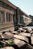 Pedras arruinadas em Angkor Wat Fotografia de Stock Royalty Free