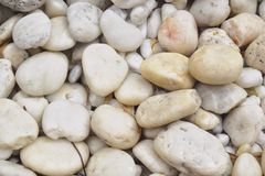 Pedras brancas Fotografia de Stock Royalty Free