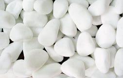 Pedras brancas fotografia de stock