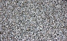 Pedras brancas do cascalho Imagem de Stock Royalty Free