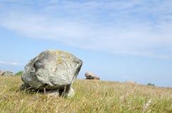 Pedras brilhantes do enterro Imagens de Stock Royalty Free