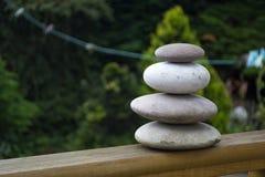 Pedras cinzentas Foto de Stock