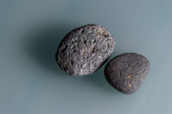 Pedras cinzentas Fotos de Stock
