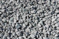 Pedras cinzentas como um fundo Imagem de Stock