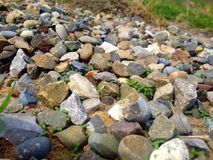 Pedras coloridas fotos de stock