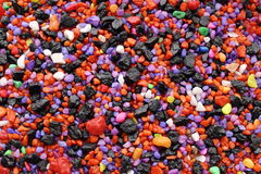 Pedras coloridas fundo Fotos de Stock