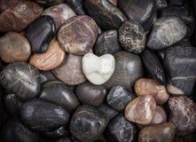 Pedras com coração Imagem de Stock Royalty Free