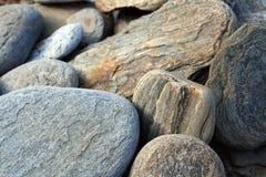 Pedras como o fundo Imagens de Stock Royalty Free
