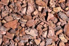 Pedras da cor vermelho-cinzenta, fundo Fotos de Stock Royalty Free