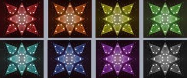 Pedras da estrela Foto de Stock